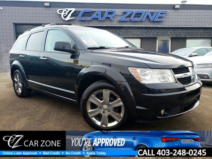 2010 Dodge Journey R/T AWD 7 PASS LEATHER SUNROOF Calgary AB