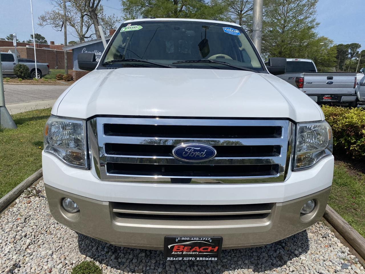 2010 FORD EXPEDITION EDDIE BAUER, WARRANTY, LEATHER, 3RD ROW, AUX/USB PORT, PARKING SENSORS, CLEAN CARFAX! Norfolk VA