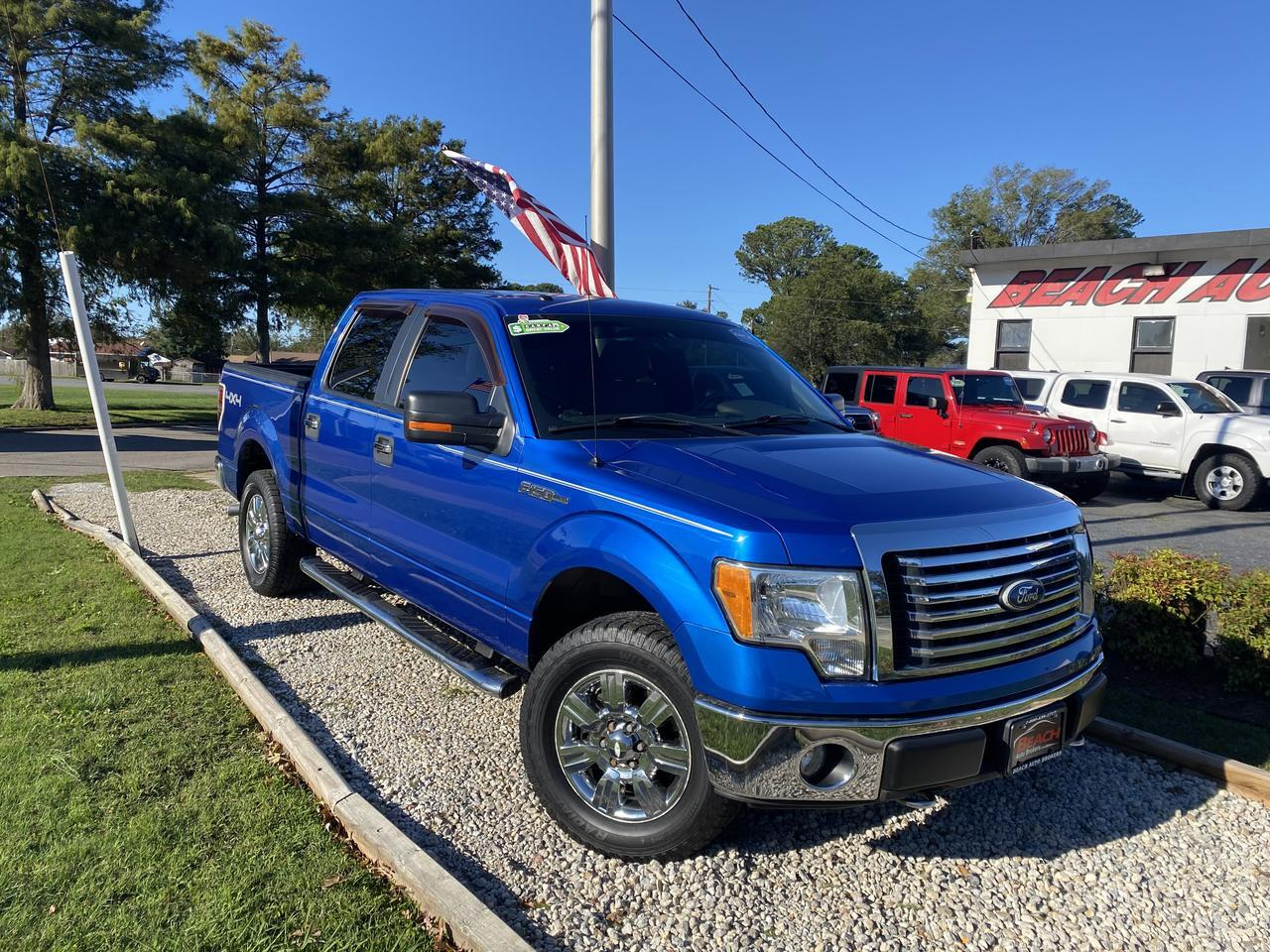 2010 FORD F-150 XLT SUPERCREW 4X4, WARRANTY, RUNNING BOARDS, TOW PKG, AUX/USB PORT, 1 OWNER, LOW MILES! Norfolk VA