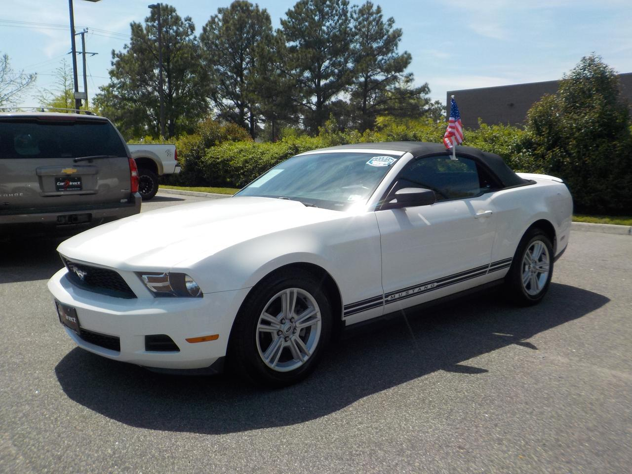 2010 FORD MUSTANG V6 CALIFORNIA SPECIAL CONVERTIBLE, FORD SYNC, CRUISE CONTROL, EXTRA CLEAN,BLUETOOTH, ONLY 93K MILES! Virginia Beach VA
