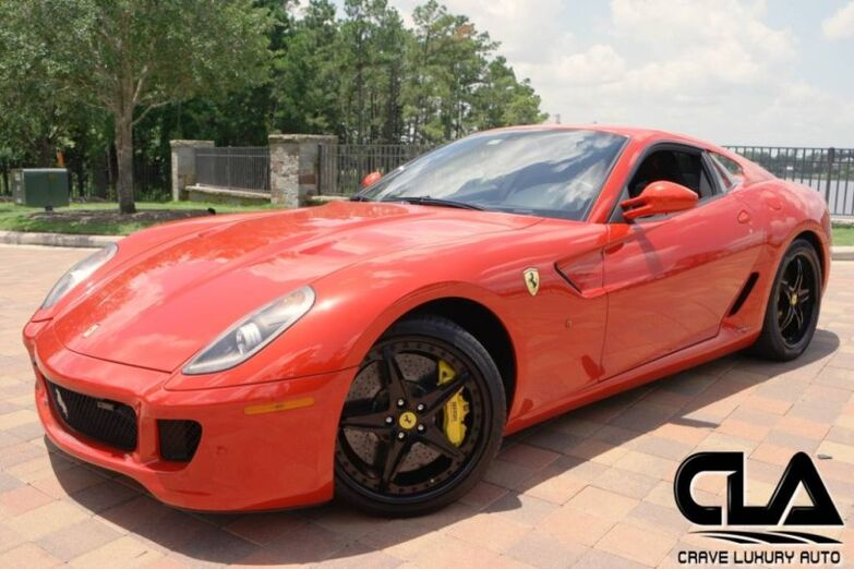 2010 Ferrari 599 GTB Fiorano  The Woodlands TX
