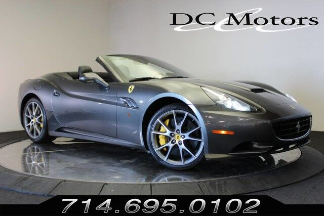 Used Ferrari California Anaheim Ca