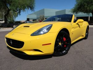 2010_Ferrari_California_Convertible_ Scottsdale AZ