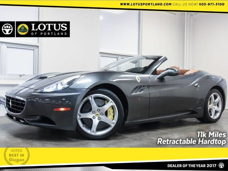 2010 Ferrari California Retractable Hardtop Only 11k Miles! Portland OR