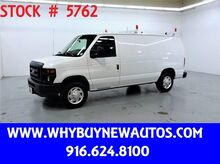 2010_Ford_E150_~ Ladder Rack & Shelves ~ Only 67K Miles!_ Rocklin CA