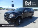 2010 Ford F-150 FX4, CANOPY, TOW PACKAGE, NEW ALL-SEASON TIRES!!