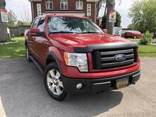 2010_Ford_F-150_FX4 SuperCrew 4WD-Htd Lthr Seats-Sunroof-Pwr Pedals-Remote Start_ London ON