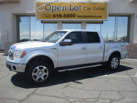 2010 Ford F-150 Lariat SuperCrew 5.5-ft. Bed 4WD Las Vegas NV