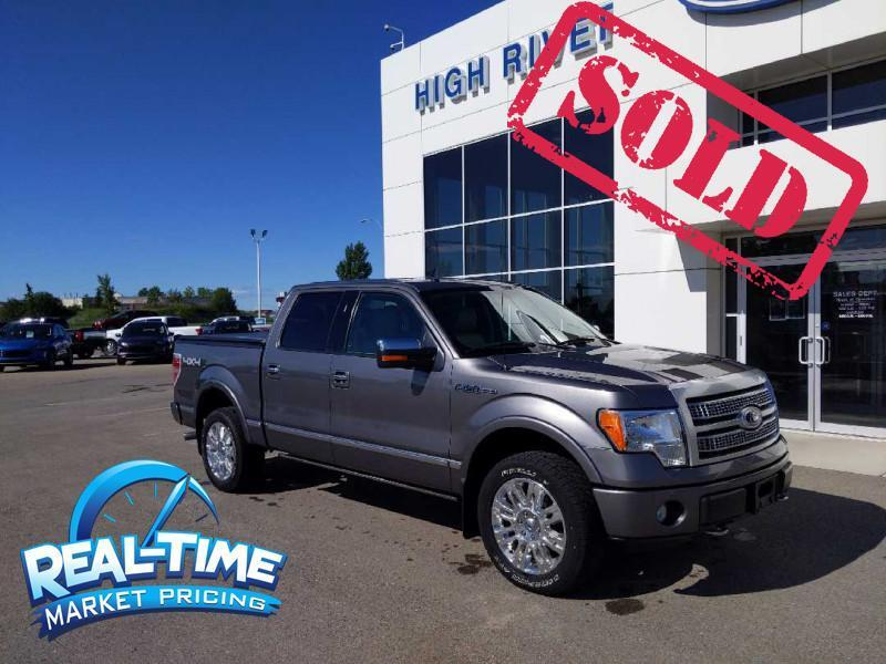 2010 Ford F-150 Platinum High River AB