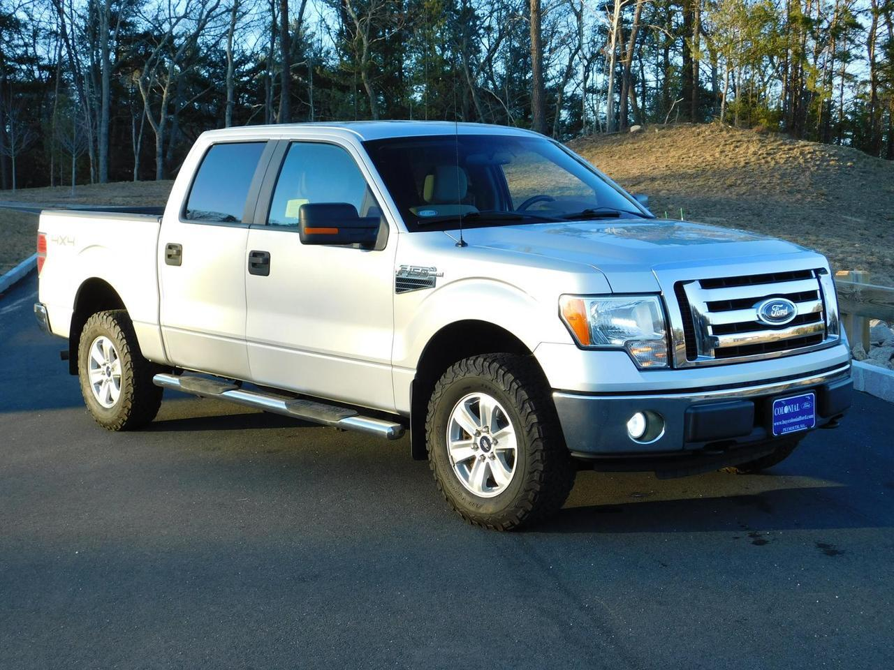 2010 Ford F-150 SuperCrew Cab XLT 4 Wheel Drive