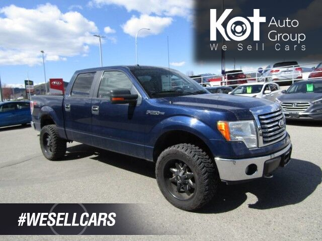 2010 Ford F-150 XLT, LIFTED! BLACK ALLOYS! TOW PACKAGE! MOTIVATED TO SELL Kelowna BC