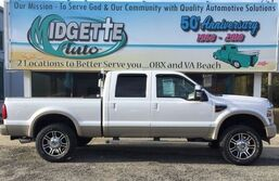 Ford F250 4WD Crew Cab King Ranch 2010