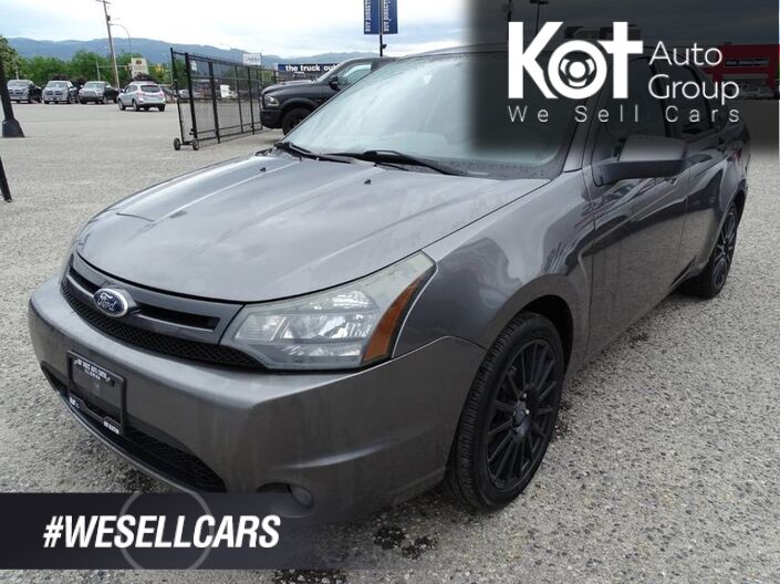 2010 Ford Focus SES, Bluetooth, Traction Control, Air Conditioning Kelowna BC
