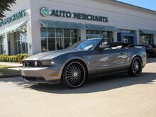 2010_Ford_Mustang_GT Premium Convertible  MANUAL, LEATHER, NAVIGATION, SHAKER STEREO, BLUETOOTH CONNECTIVITY_ Plano TX