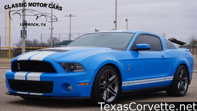 2010 Ford Mustang GT500 Lubbock TX