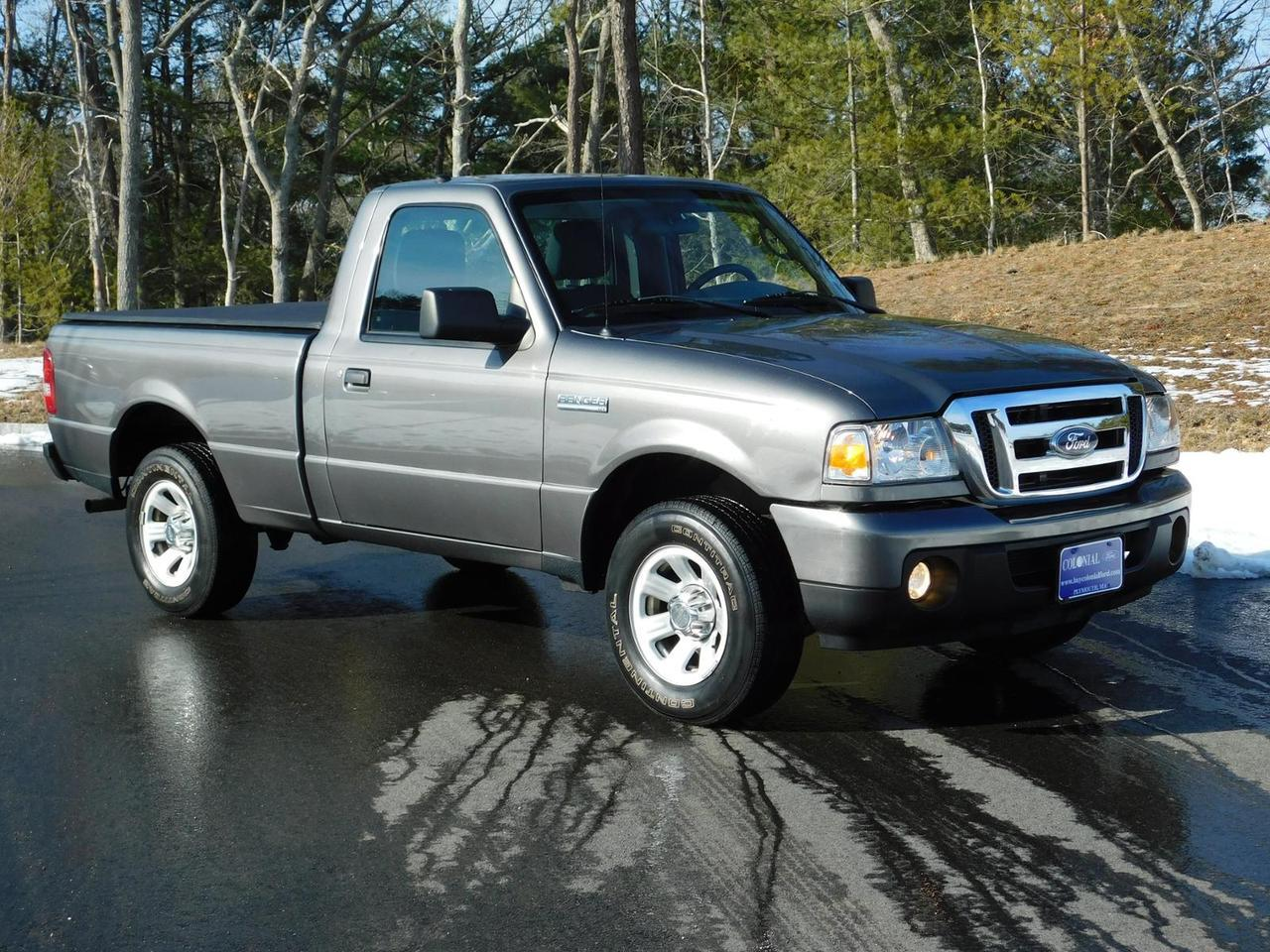 2010 Ford Ranger Regular Cab XLT 2 Wheel Drive