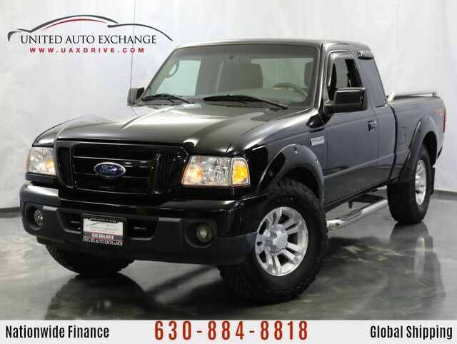 2010 Ford Ranger Sport with Manual Transmission Addison IL