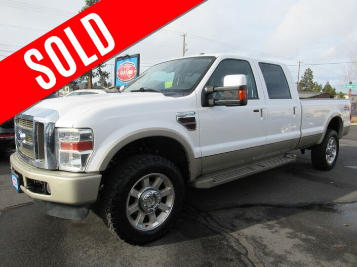 2010 Ford Super Duty F-350 SRW 4WD Crew Cab 172 King Ranch Bend OR