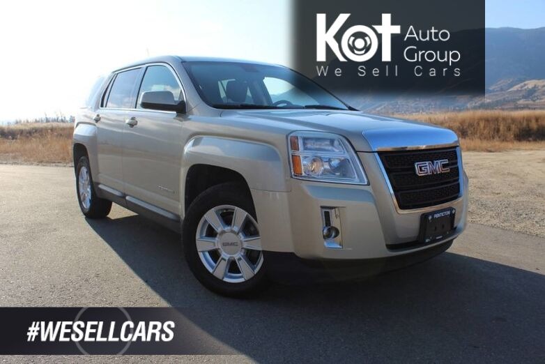 2010 GMC Terrain SLE-1, Great Family Vehicle, A Beautiful Gold Mist Metallic Kelowna BC