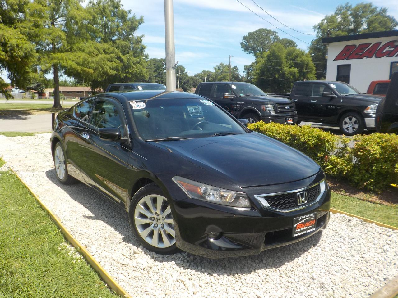 2010 HONDA ACCORD EX-L V6 COUPE, WARRANTY, LEATHER, SUNROOF, SATELLITE RADIO, 1 OWNER, ONLY 46K MILES!
