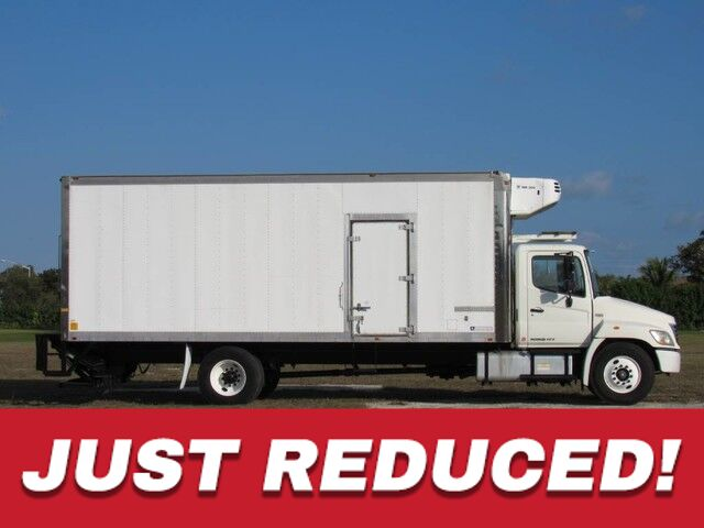 2010 Hino 338 24' Reefer Truck w/Side Door & Lift-gate (Diesel) Homestead FL