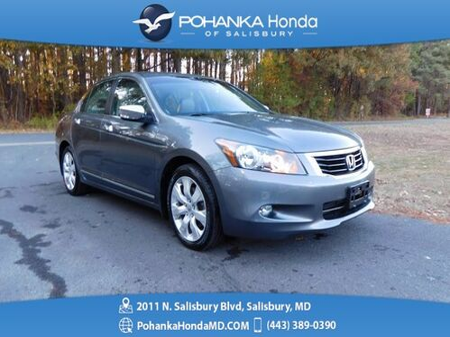 2010_Honda_Accord_EX-L 3.5 V6  ** LEATHER & SUNROOF ** GUARANTEED FINANCI_ Salisbury MD