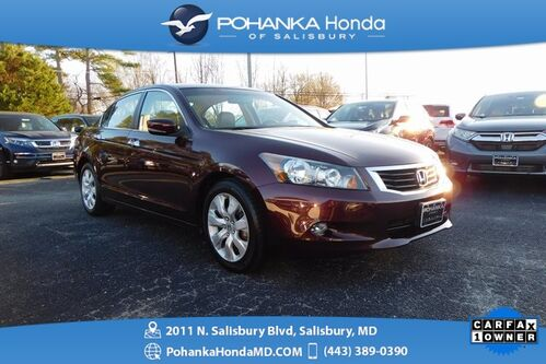 2010_Honda_Accord_EX-L V6 ** 34 CARFAX SERVICE RECORDS ** SUNROOF & LEATH_ Salisbury MD