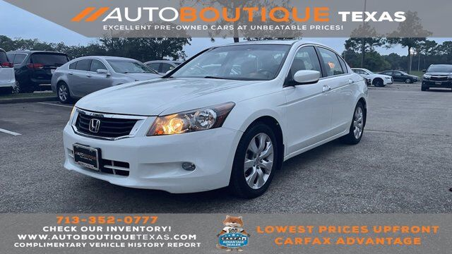 2010 Honda Accord Sdn EX-L Houston TX