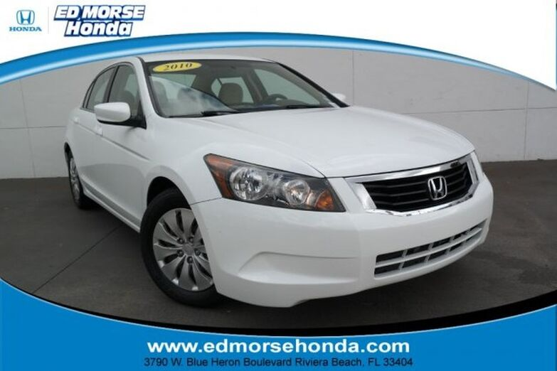 2010 Honda Accord Sedan 4dr I4 Auto LX Riviera Beach FL