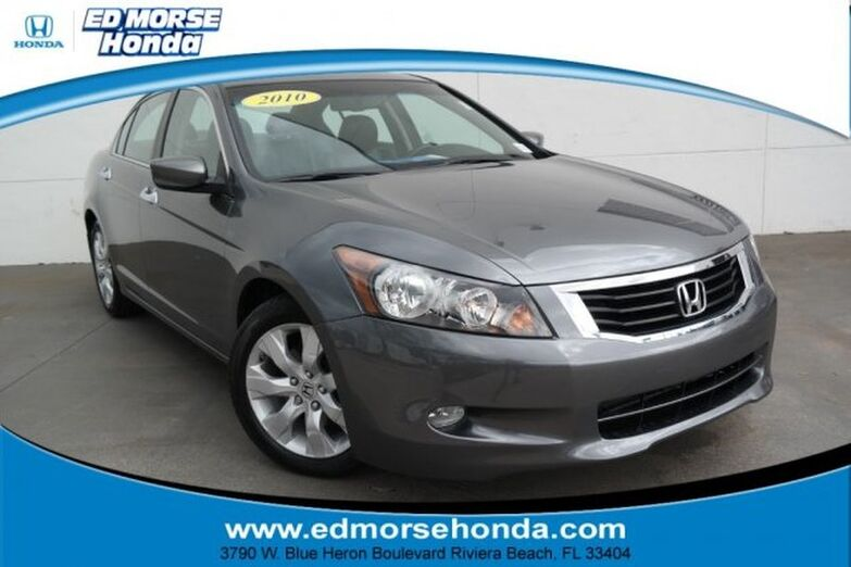 2010 Honda Accord Sedan 4dr V6 Auto EX-L Riviera Beach FL