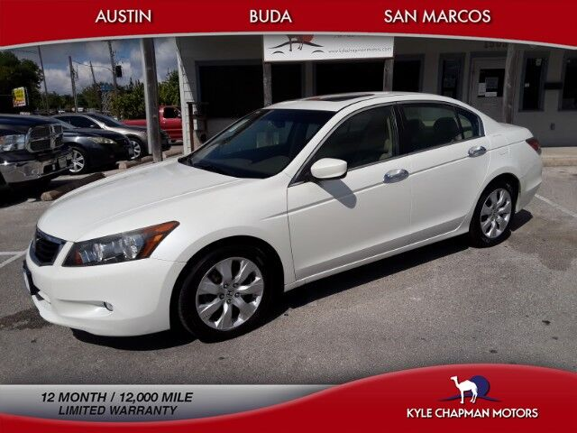 2010 Honda Accord Sedan EX-L-SUNROOF-NAV-CD-AUX