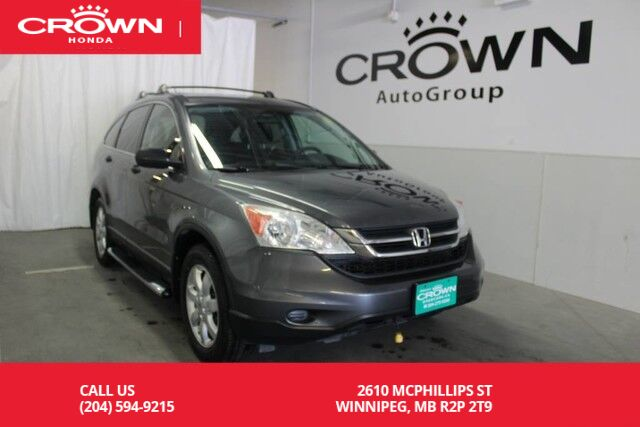 2010 Honda CR V LX/4WD/ONE OWNER/REMOTE START Winnipeg MB ...