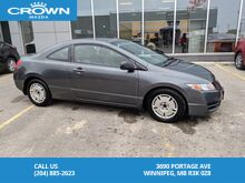 2010_Honda_Civic_Coupe DX-G Automatic *Low Kilometre's/Excellent Condition*_ Winnipeg MB