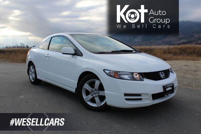 2010 Honda Civic Cpe LX, Great on Fuel, Sunroof Penticton BC