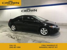 2010_Honda_Civic Cpe_LX SR **Sunroof** 1 Owner Local Manitoba Trade In** Low Kms**_ Winnipeg MB