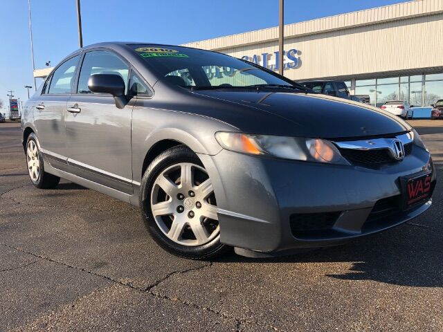 2010 Honda Civic LX Sedan 5-Speed AT Jackson MS