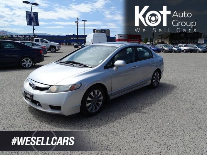2010 Honda Civic Sdn EX-L Heated Leather Seats, Sunroof Kelowna BC