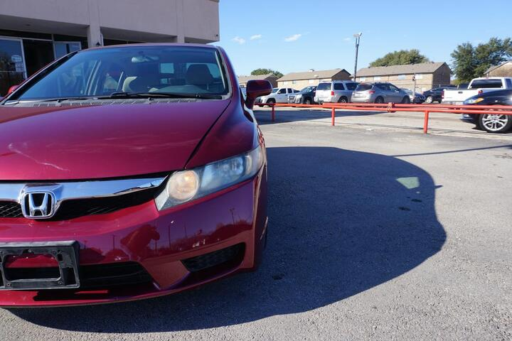 2010 Honda Civic Sdn LX Dallas TX