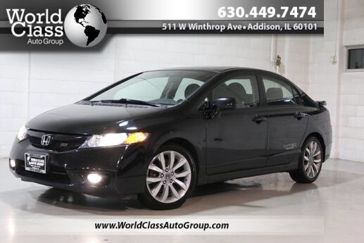 2010 Honda Civic Sdn Si - NAVIGATION MANUAL TRANSMISSION SUN ROOF FAST ALLOY WHEELS CLEAN Chicago IL