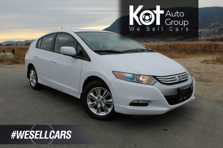 2010 Honda Insight EX w/Navi, No Accidents, Great on Fuel Kelowna BC