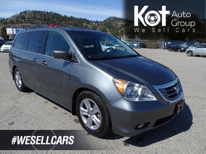 2010 Honda Odyssey TOURING! NAV! LEATHER! ENTERTAINMENT SYSTEM! RARE UNIT! Kelowna BC