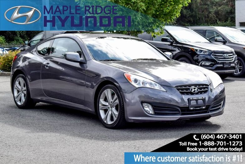 2010 Hyundai Genesis Coupe Premium, Sport Paddle Shift, Power Group, Sunroof, Alloy Wheels Maple Ridge BC