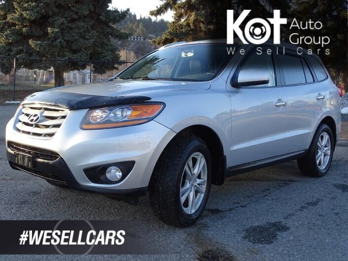 2010 Hyundai Santa Fe Limited, AWD, Heated Leather Seats Kelowna BC