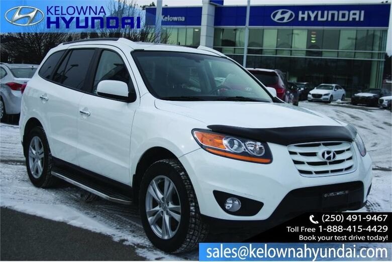 2010 Hyundai Santa Fe Limited Keyless entry, Leather,sunroof No Accident!! Kelowna BC