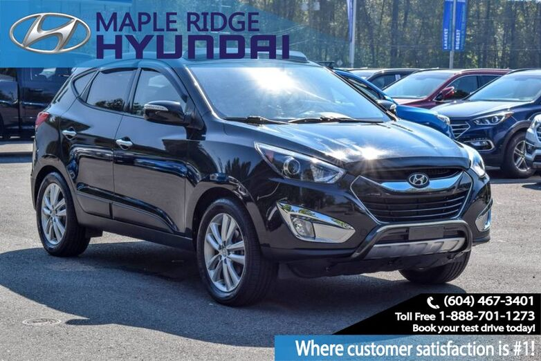 2010 Hyundai Tucson AWD 4dr I4 Auto Limited Maple Ridge BC
