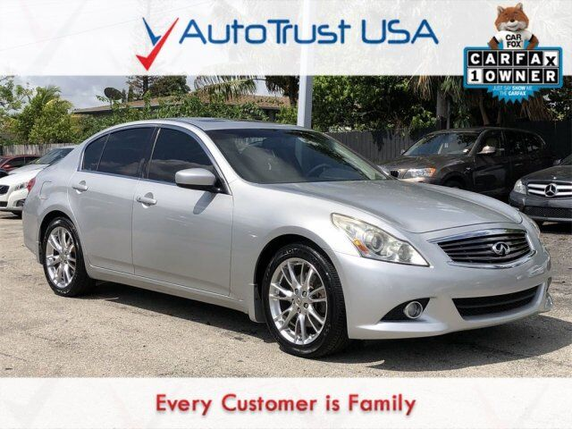 2010 INFINITI G37 Sedan Journey Miami FL