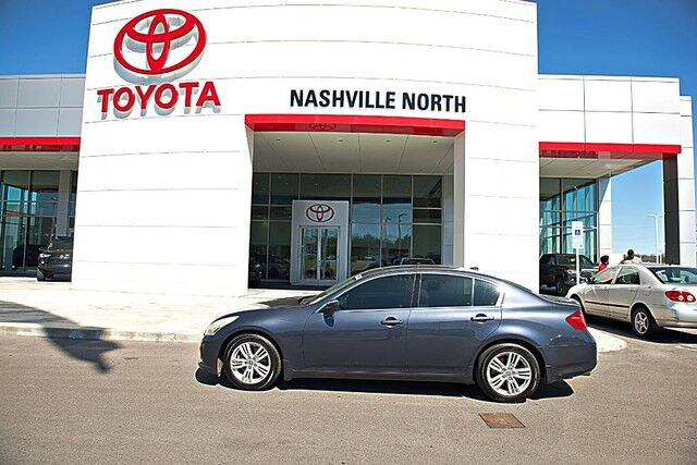 2010 INFINITI G37 Sedan Journey Nashville TN