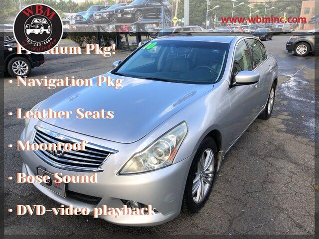 2010 INFINITI G37 x Sedan w/ Premium Pkg Arlington VA
