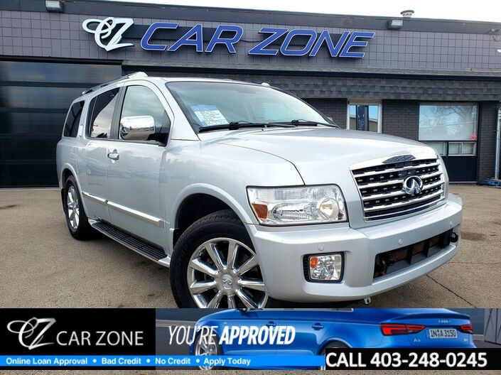 2010 INFINITI QX56 7-pass LOADED, FULLY INSPECTED Calgary AB