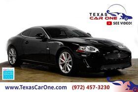 2010_Jaguar_XKR Coupe_NAVIGATION LEATHER HEATED SEATS BLUETOOTH HEATED STEERING WHEEL_ Carrollton TX